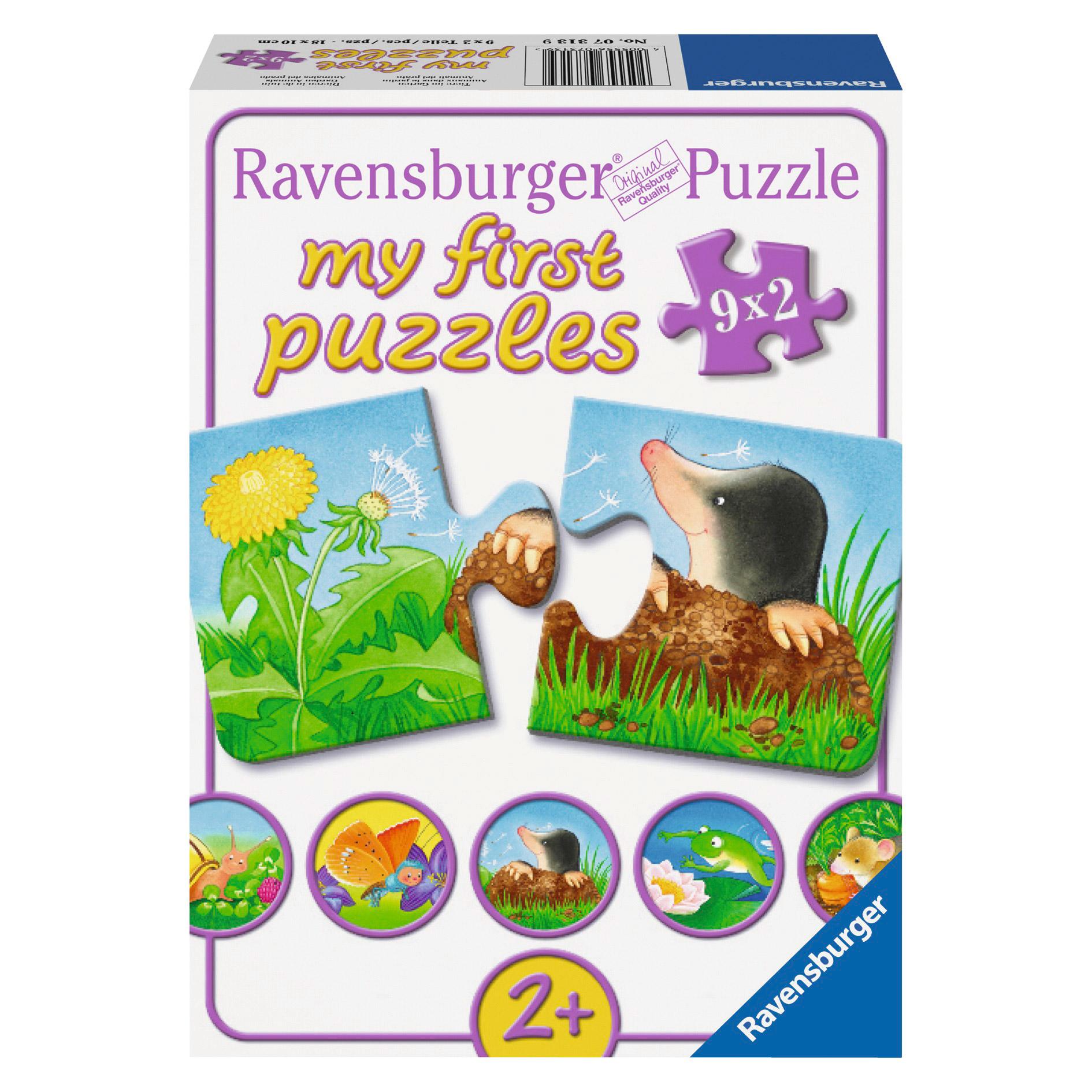 Puzzle Animale de grad...