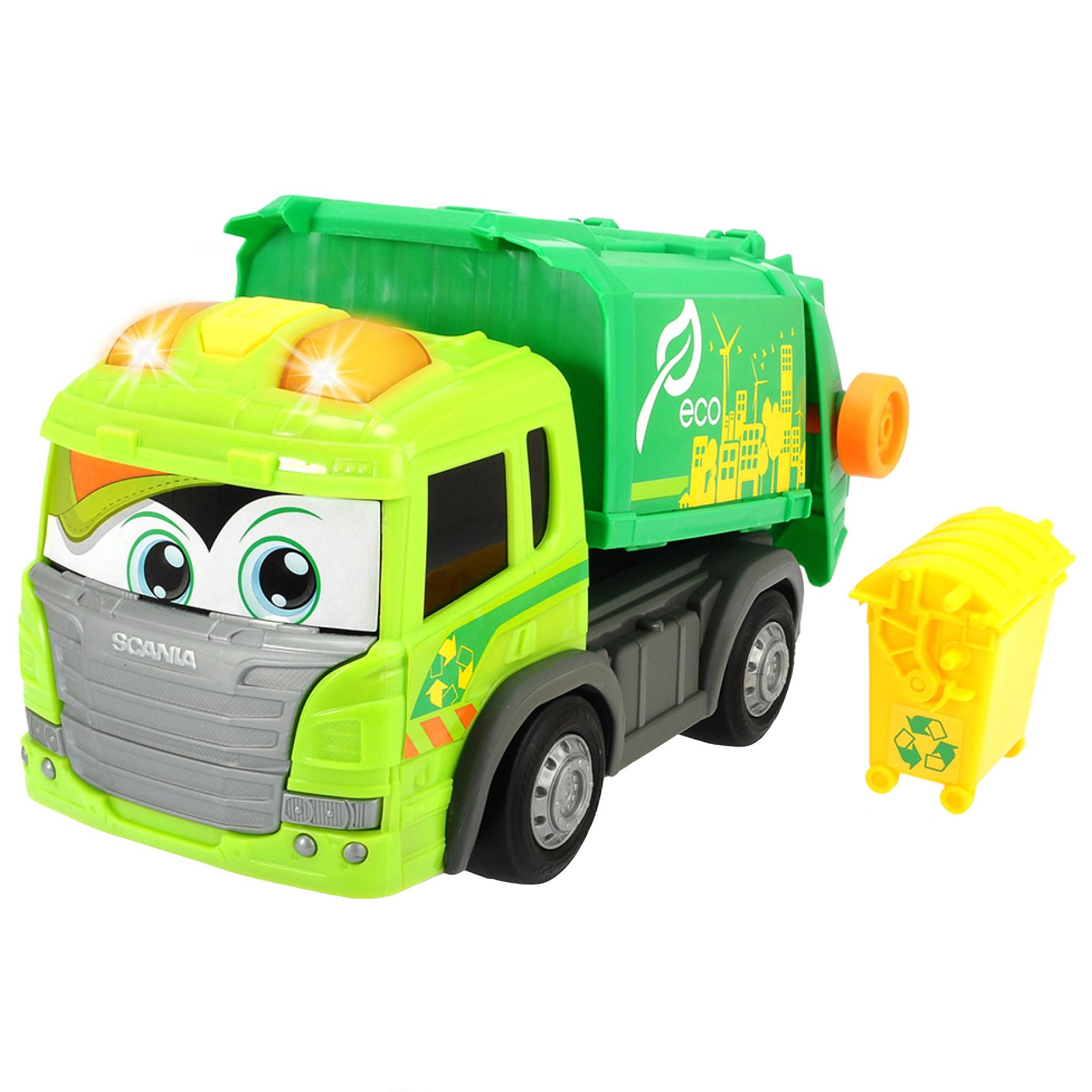 Masina de gunoi Scania...