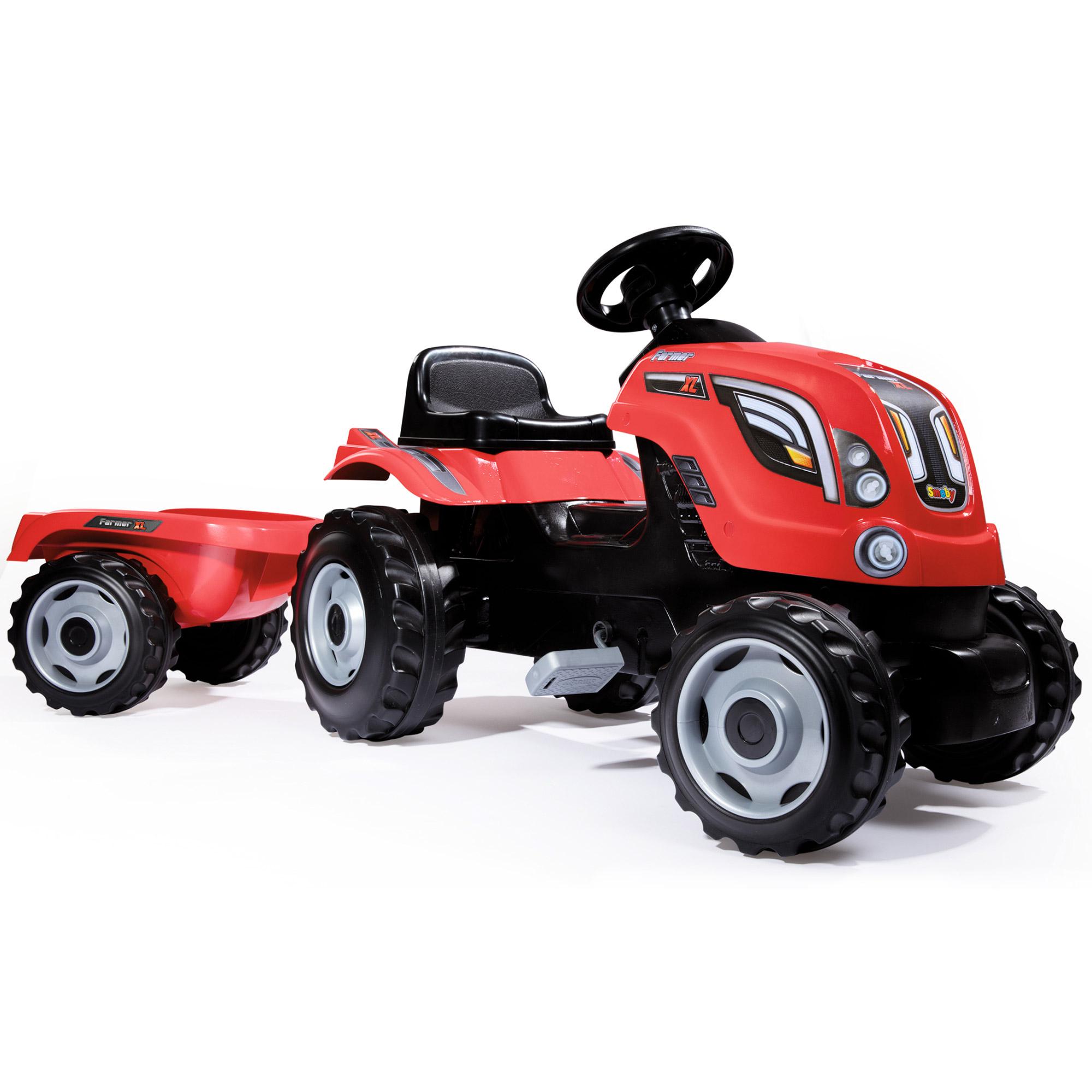 Tractor XL Rosu cu rem...