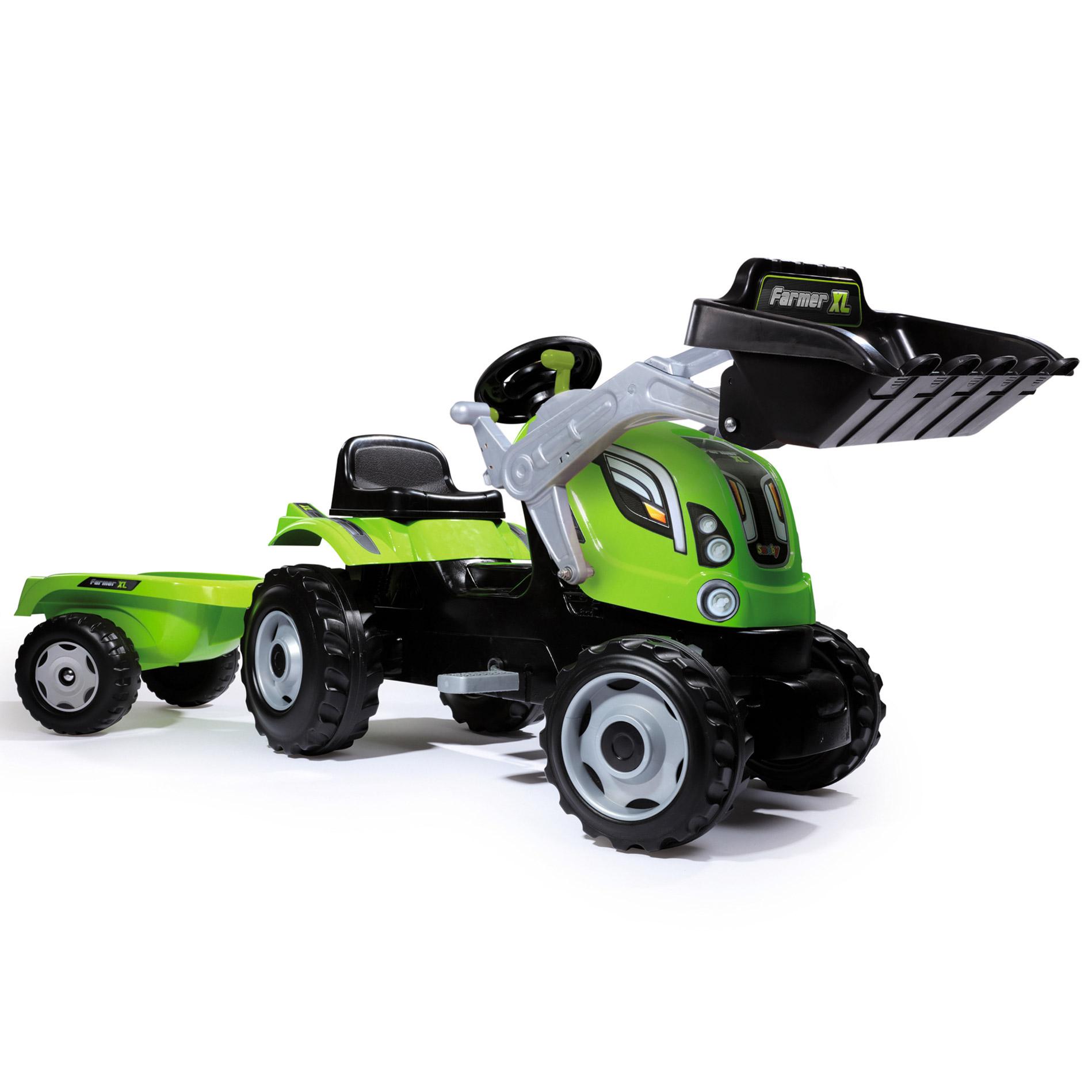 Tractor MAX Verde cu r...