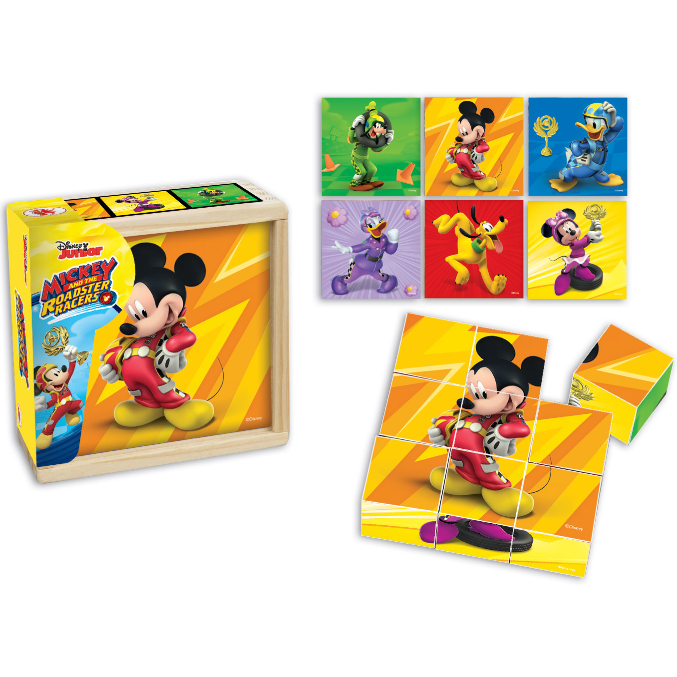 Puzzle cuburi Mickey s...