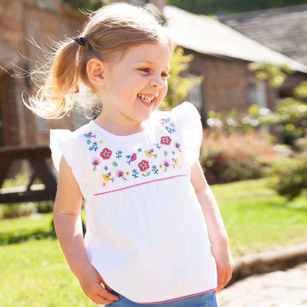 Bluza Floral Embroider...