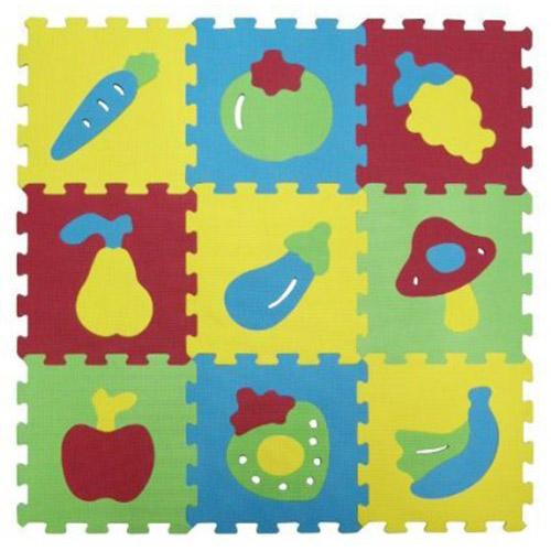 Covoras-puzzle cu fruc...