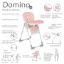 Domino Brevi roz, 6 luni+ Caracteristici