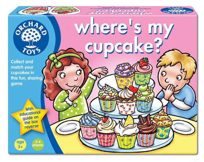 Joc educativ Where's My Cupcake? Orchard, in limba engleza, 36 luni+