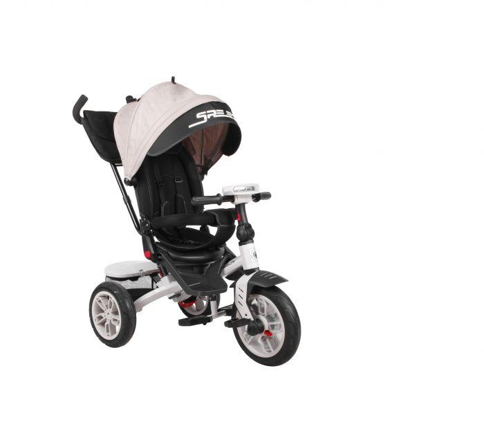 Tricicleta Speedy Lorelli Ivory, 12 luni+, Bej