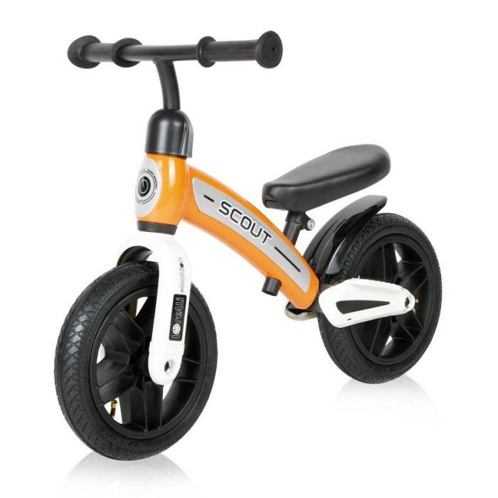 Bicicleta fara pedale Scout Air Lorelli Orange, 24 luni+, Portocaliu