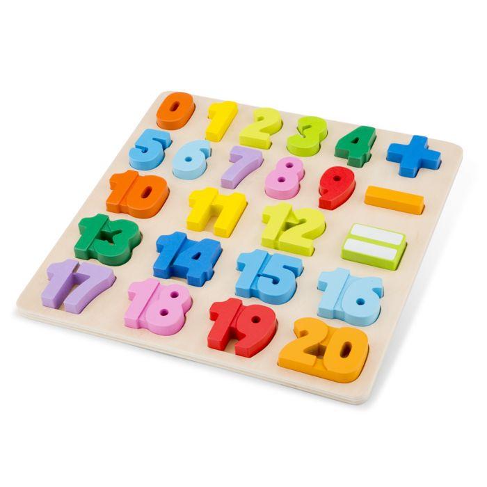 Puzzle Numere New Classic Toys, 24 luni+
