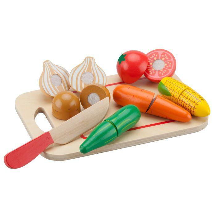 Platou cu legume New Classic Toys, 36 luni+