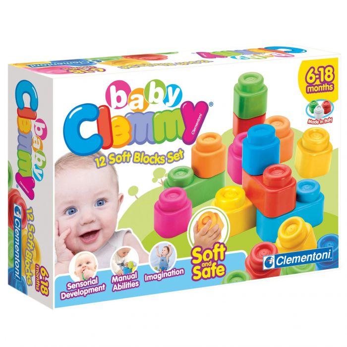 set 12 cuburi moi bebelus clemmy