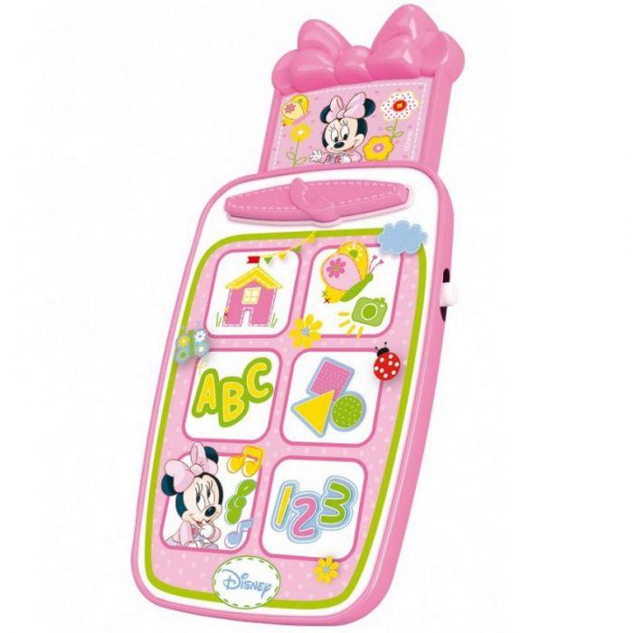 telefon smartphone minnie mouse roz