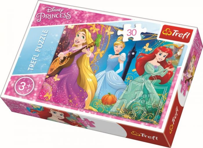Puzzle Printese Disney Trefl, 30 piese, 3 ani+