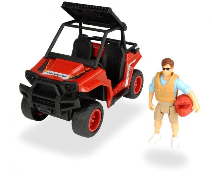 Dickie masina padurarului cu figurina Simba, 3 ani+