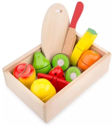 Cutie cu fructe New Classic Toys, 36 luni+