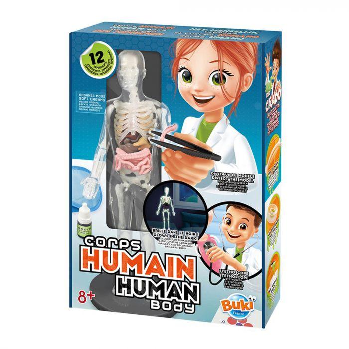 Corpul uman New Buki, 12 experimente, 8 ani+