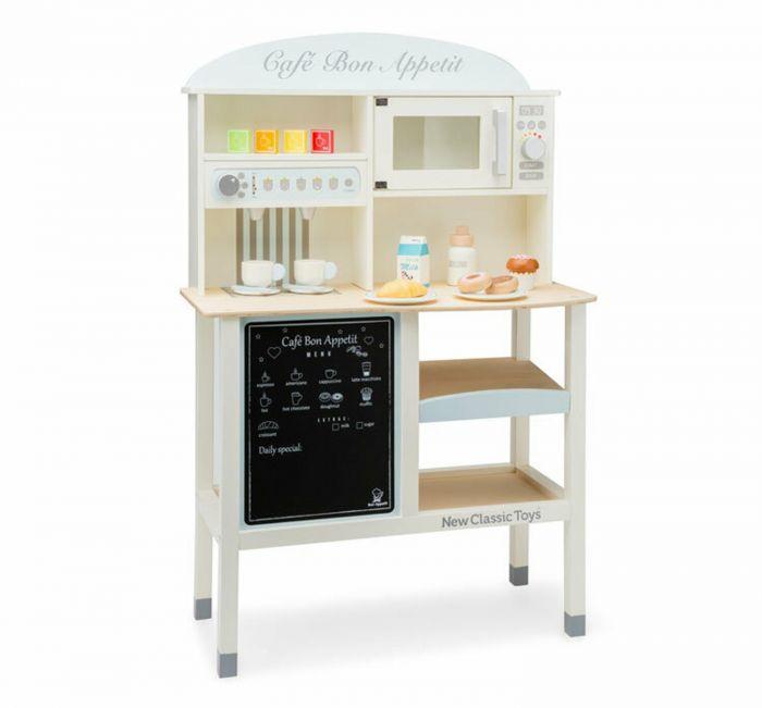 Bucatarie Bon appetit Grand Cafe New Classic Toys, 36 luni+