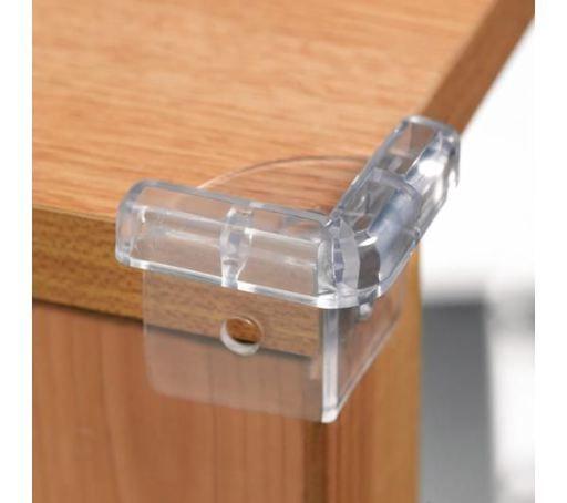 Aparatori colturi Safety 1st, 4buc/set, transparent
