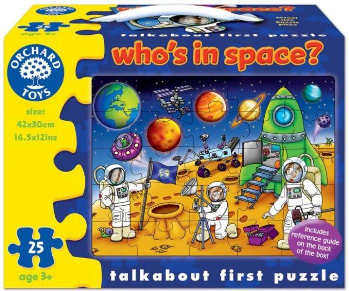 Puzzle Spatiul Cosmic Toys, 25 piese, 36 luni+