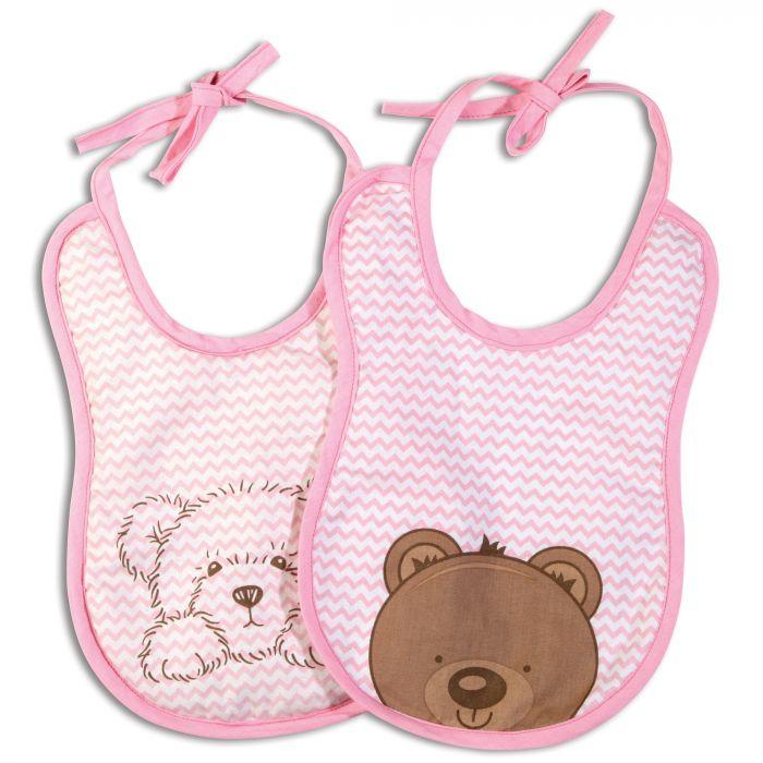 bavete impermeabile roz ursulet