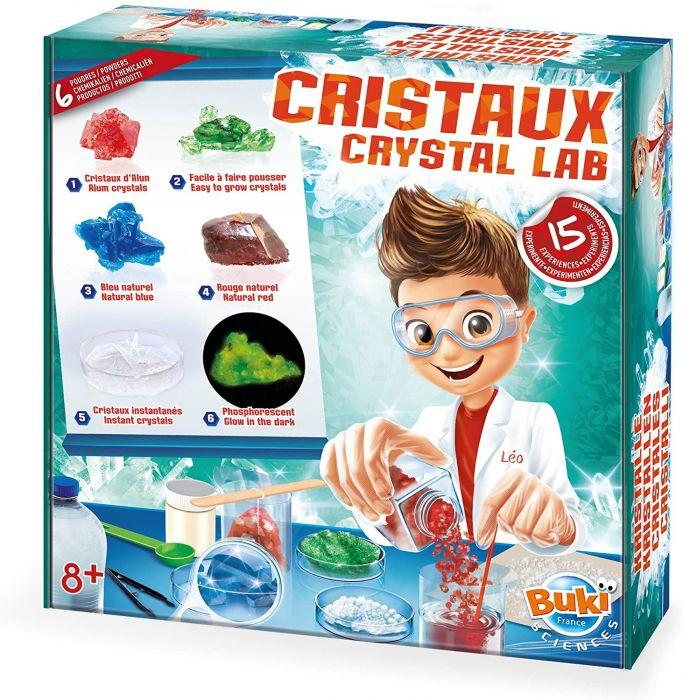 Laboratorul de cristale Buki, 15 experimente, 8 ani+