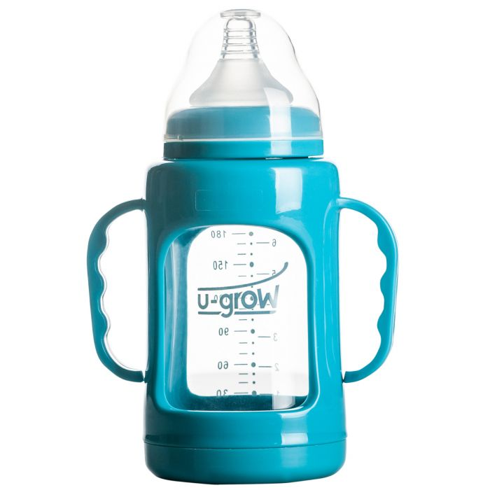 bbiberon sticla polipropilena 200 ml u-grow