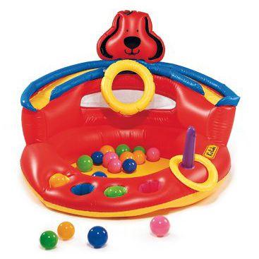 arena piscina bile mingi gonflabil fetite baietei multicolor