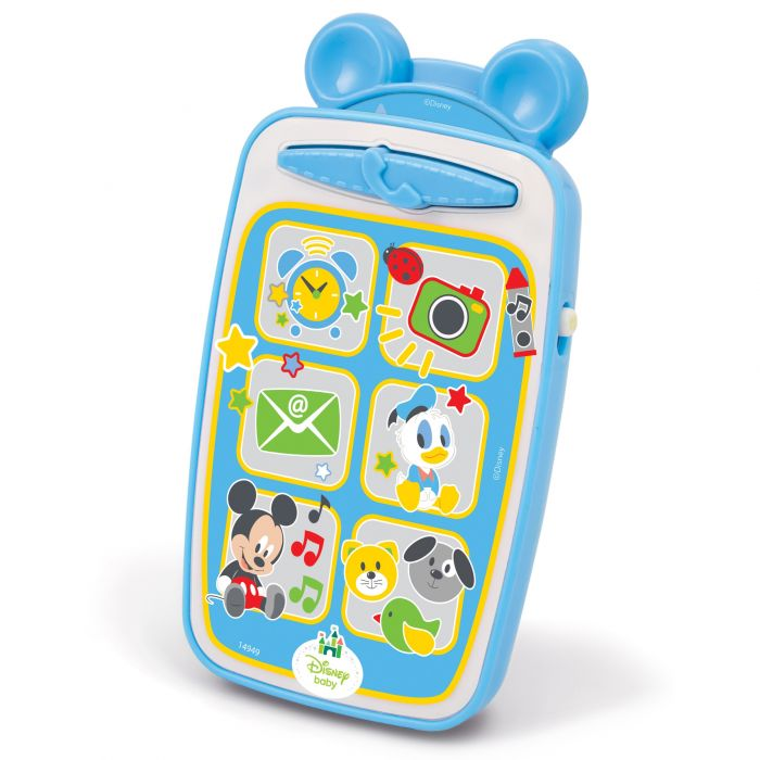 telefon smartphone interactiv mickey mouse clementoni