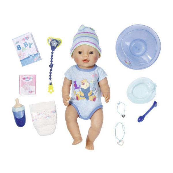 Bebelus baietel interactiv Zapf