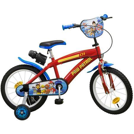 Bicicleta copii 16'' Paw Patrol Toimsa, 5 ani+