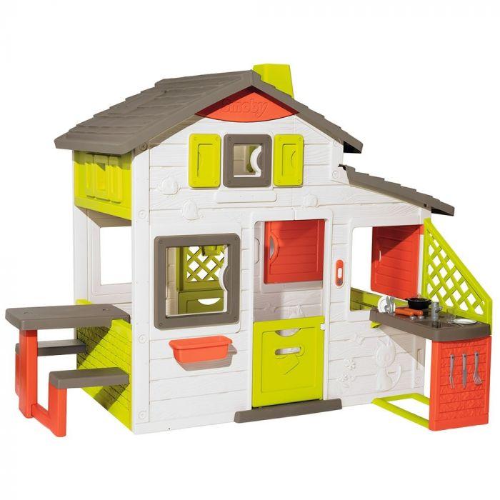 Casuta copii Smoby Friends Playhouse Neo cu bucatarie, 2 ani+