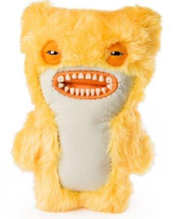 Fuggler Monstru mediu pufos Spin Master, 26 cm, 4 ani+, Galben