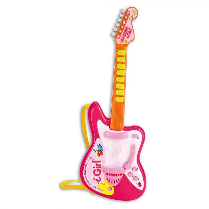 Chitara electronica cu lumini Girl Bontempi