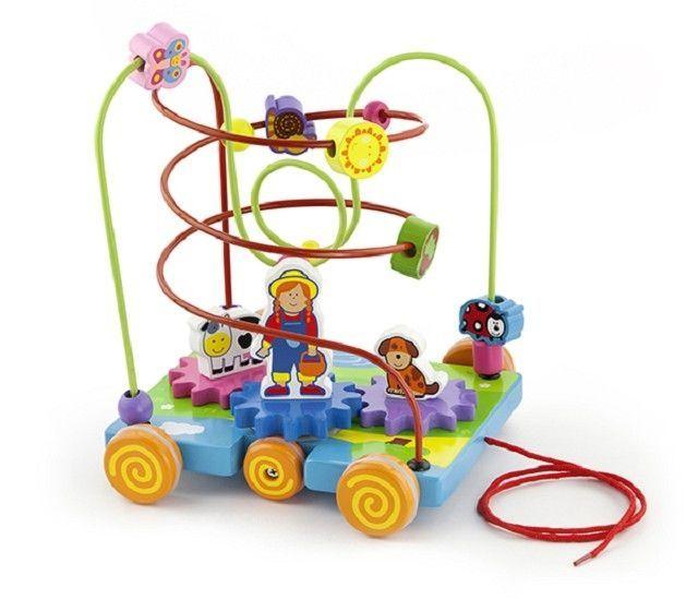 Circuit cu activitati Ferma New Classic Toys, 18 luni+