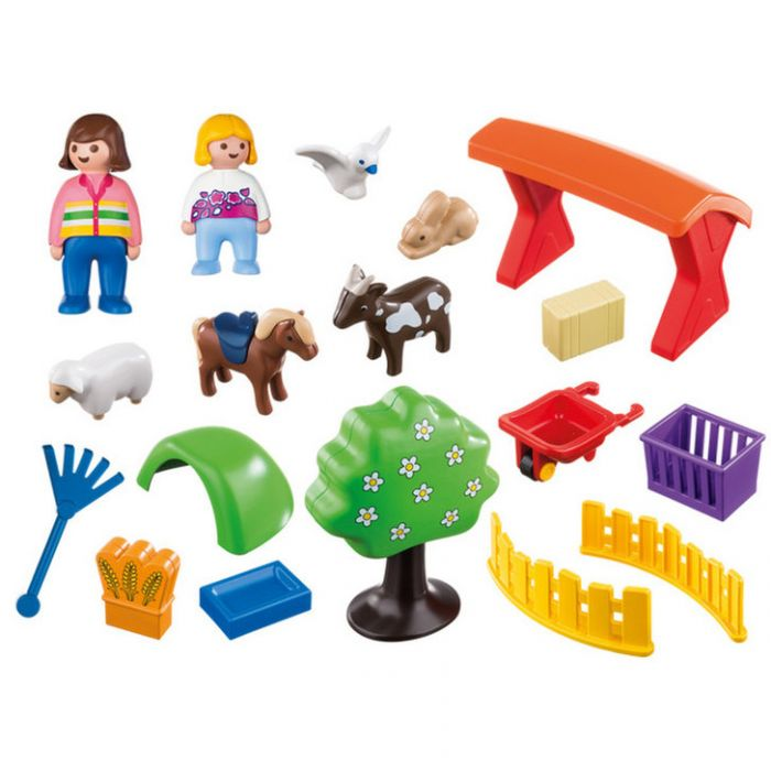 Figurine si animale la Zoo Playmobil