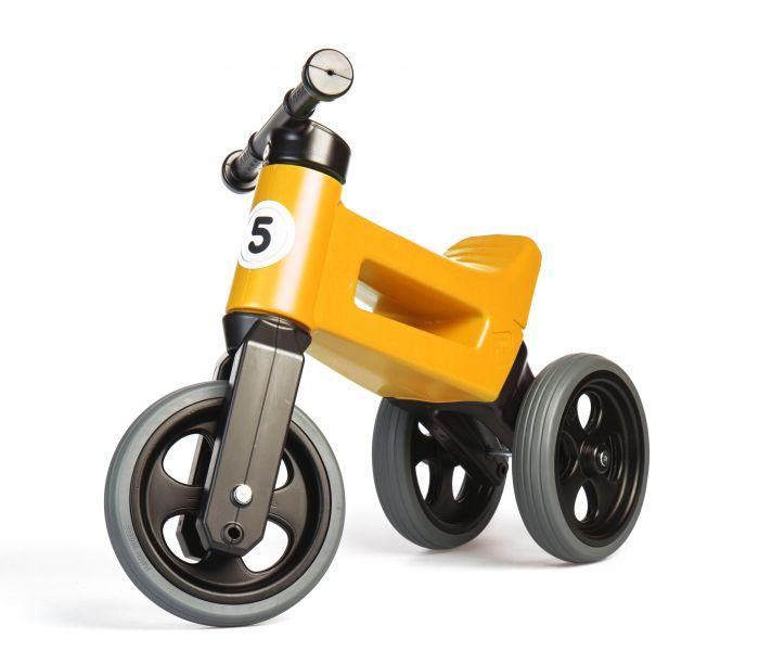 Bicicleta fara pedale 2 in 1 Rider Sport Funny Wheels Orange, 12 luni+
