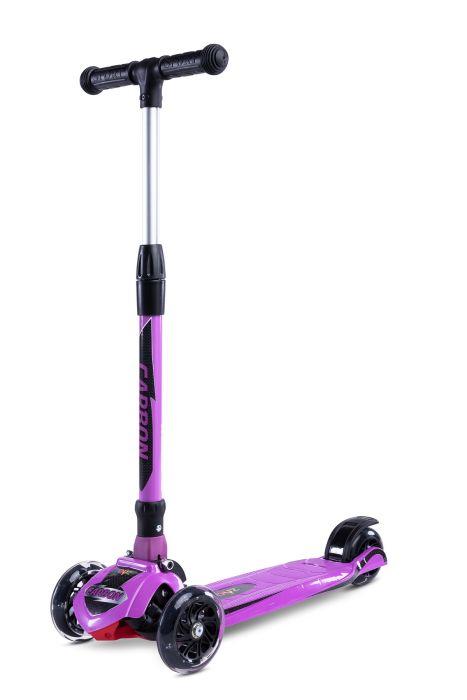 Trotineta pliabila Carbon Toyz Purple, 36 luni+