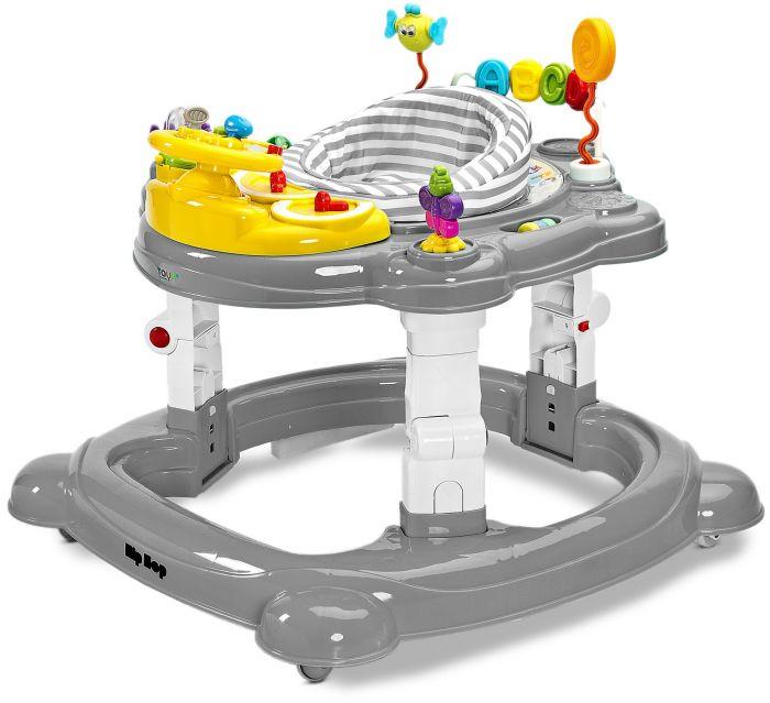 Premergator bebelusi Hiphop 360 Toyz Graphite, 6 luni+