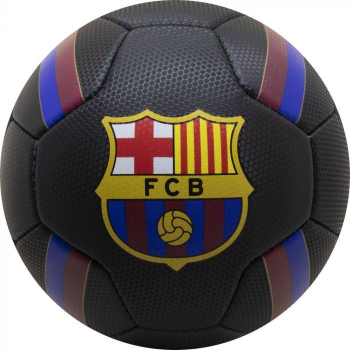 Minge de fotbal FC Barcelona Logo BLACK, marimea 5