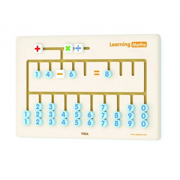 Joc de perete Matematica New Classic Toys, 36 luni+