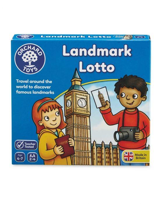 Joc educativ Landmark Lotto Orchard, 4 ani+
