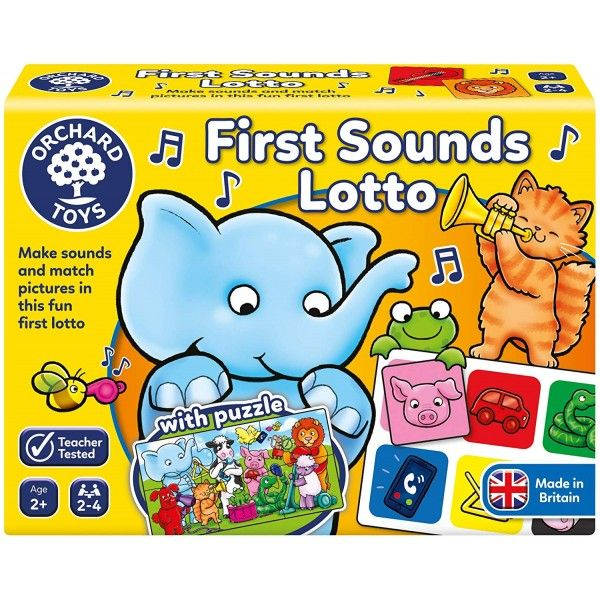 Joc educativ loto First Sounds Lotto Orchard, 24 luni+
