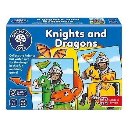 Joc tip puzzle Knights and Dragons Orchard, 4 ani+