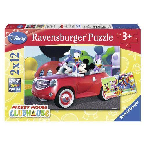 Joc educativ puzzle Mickey si prietenii Ravensburger