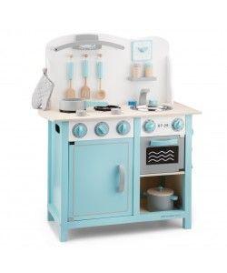 Bucatarie Bon appetit Deluxe New Classic Toys, 36 luni+, Albastru