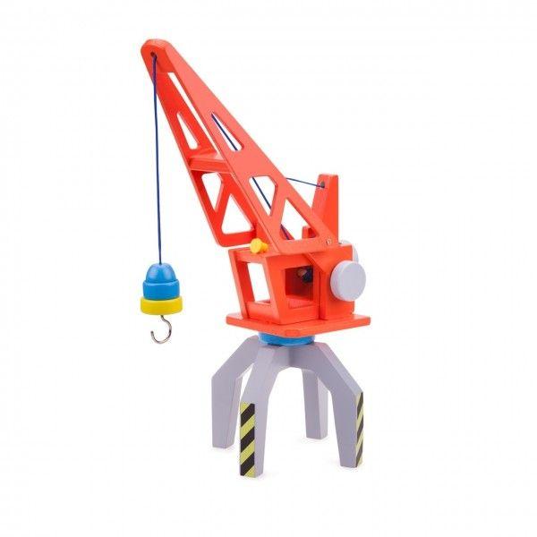 Macara New Classic Toys, pentru containere, din lemn, 36 luni+
