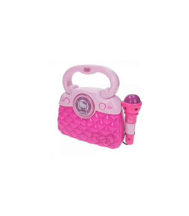 Geanta Hello Kitty New Reig Musicales, cu microfon si amplificator, 36 luni+