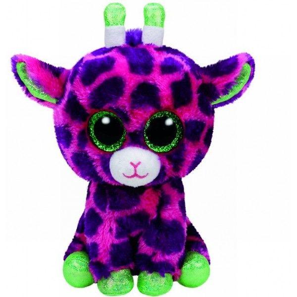 Plus, Boos Gilbert Girafa TY, 15 cm, 3 ani+