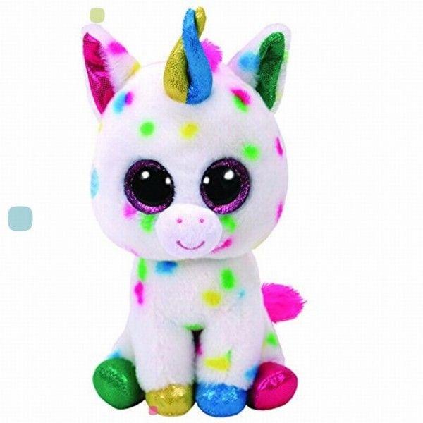 Plus, Boos Harmonie Unicorn Cu Buline TY, 15 cm, 3 ani+