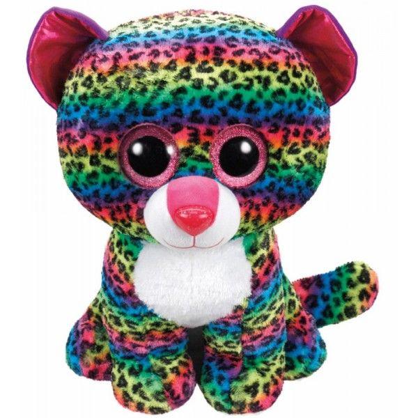Plus Boos, Leopard Multicolor TY, 42 cm, 3 ani+