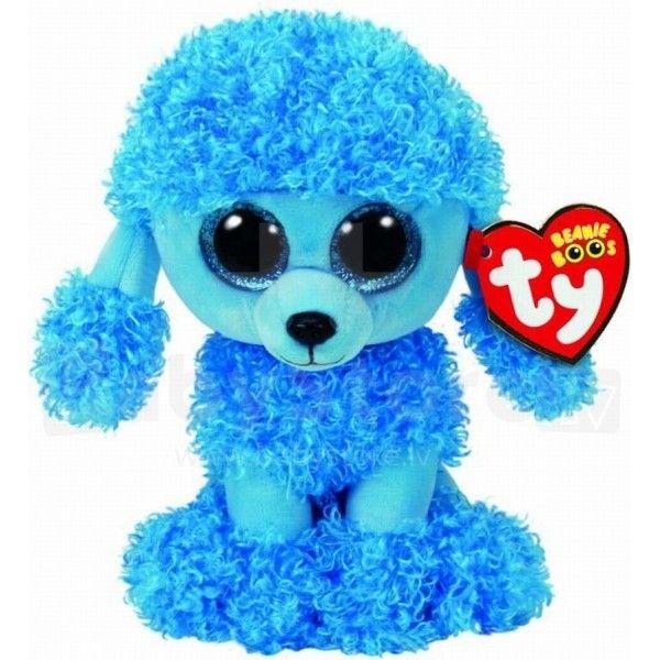 Plus Boos, Mandy Pudel Albastru TY, 15 cm, 3 ani+